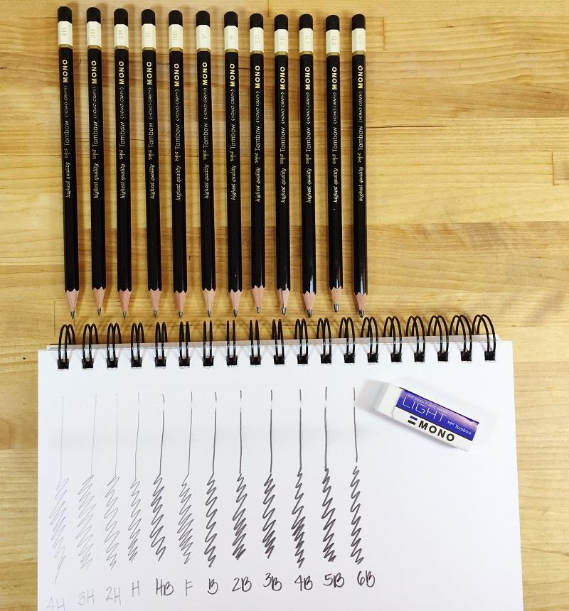 mono drawing pencil set basics tombow usa blog