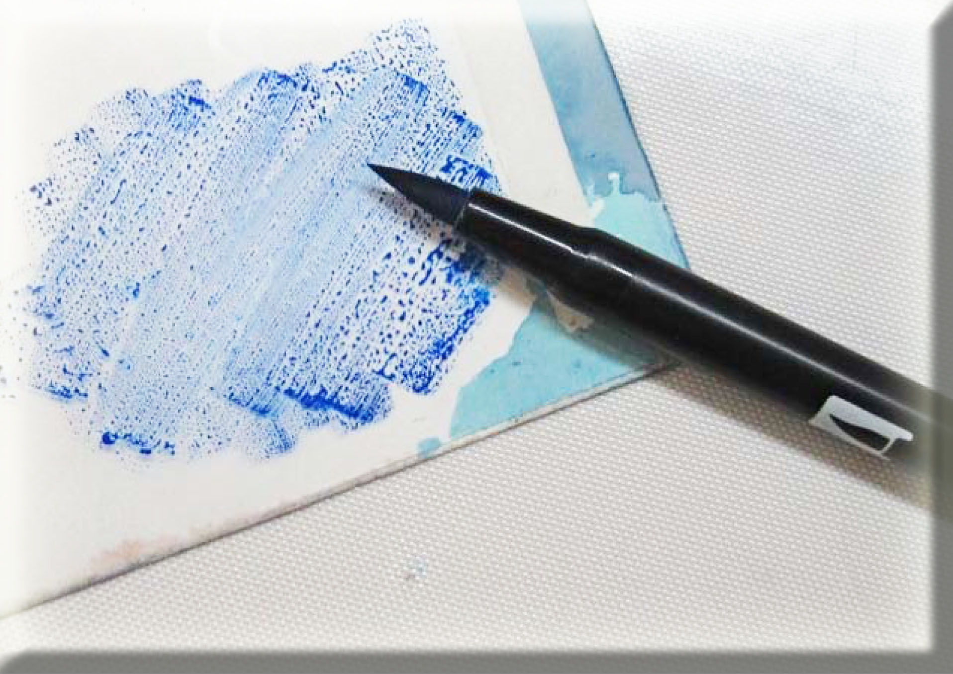"Tombow ""Tip-niques"" ~ Brush Blending with Dual Brush Pens ...