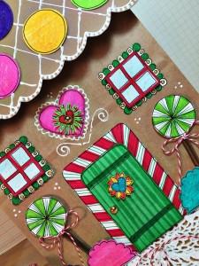 Upcycled Gingerbread Gift Bag Tombow Usa Blog