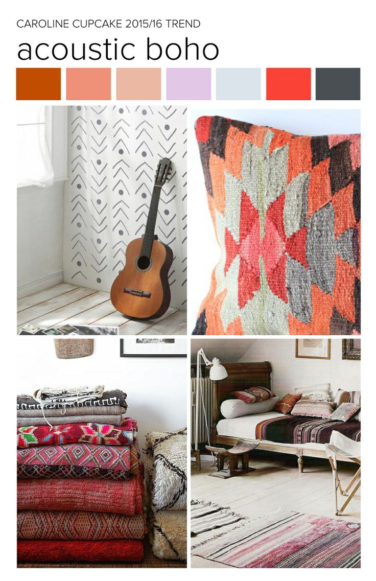 Acoustic Boho - Summer Trends Tombow