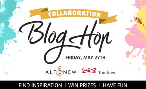 Tombow USA and Altenew Blog Hop