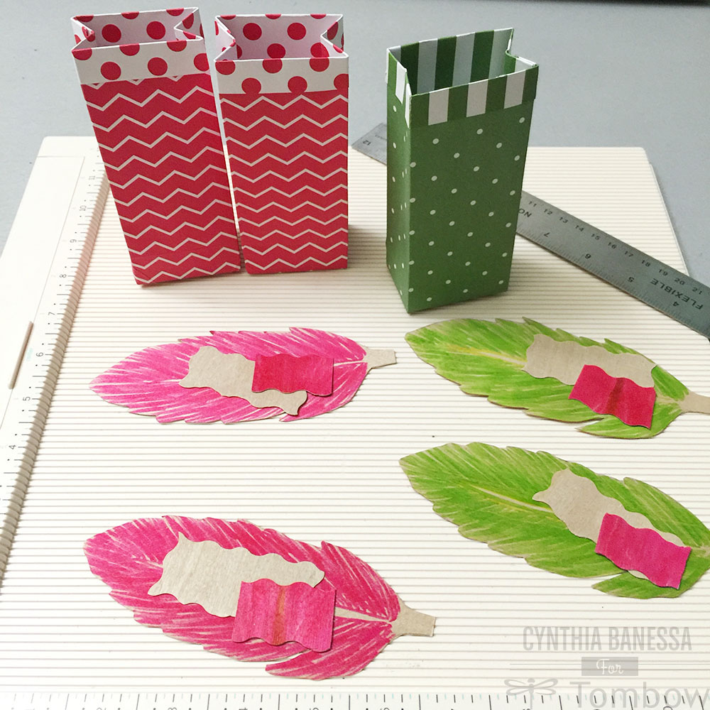 DIY Party Favor Bags And Place Cards