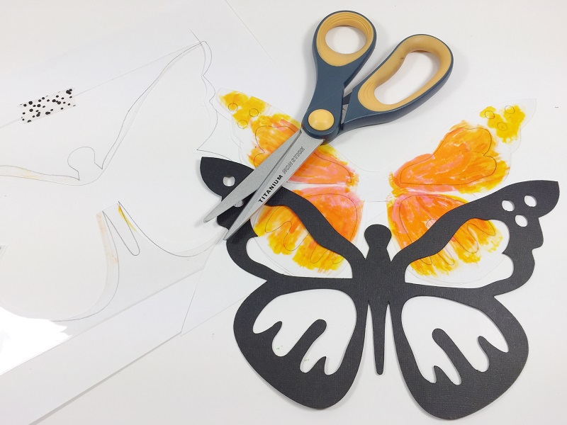 CREATE BUTTERFLY SUN CATCHERS WITH CRICUT BETH WATSON