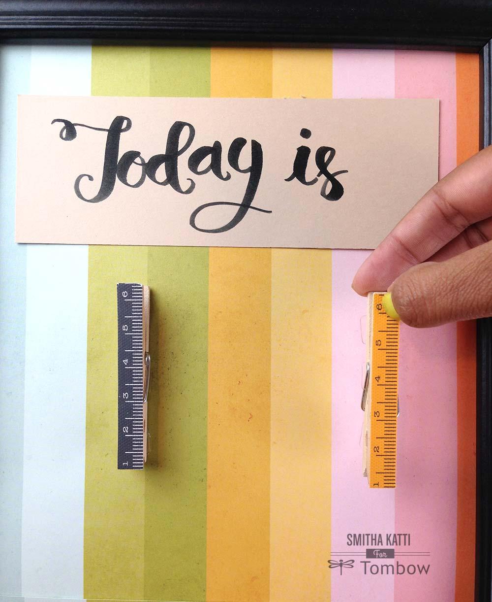 Diy Learning Calendar : Diy classroom calendar by smitha katti tombow usa
