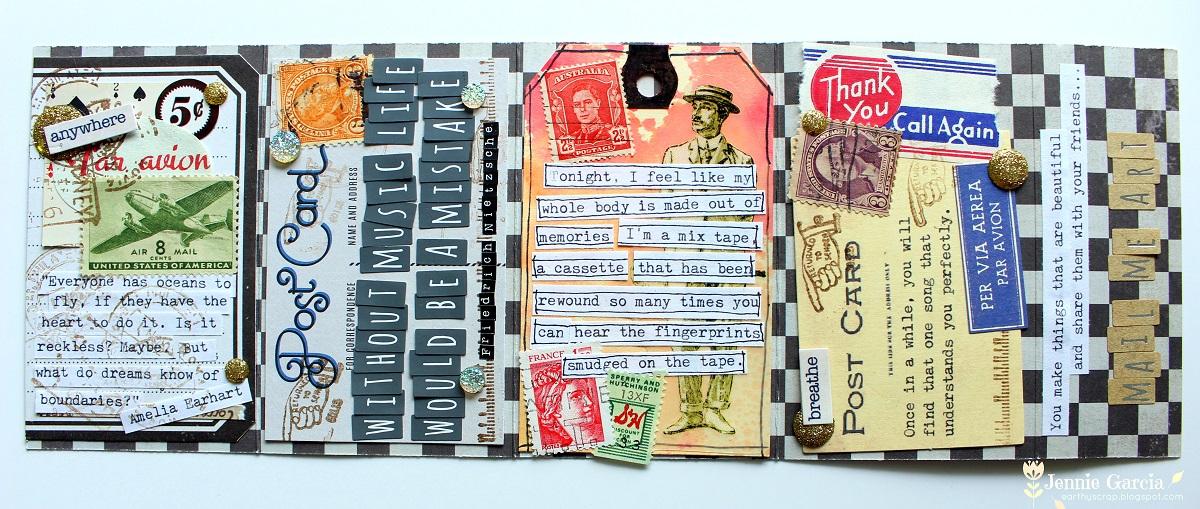 Cassette Mail Art-001