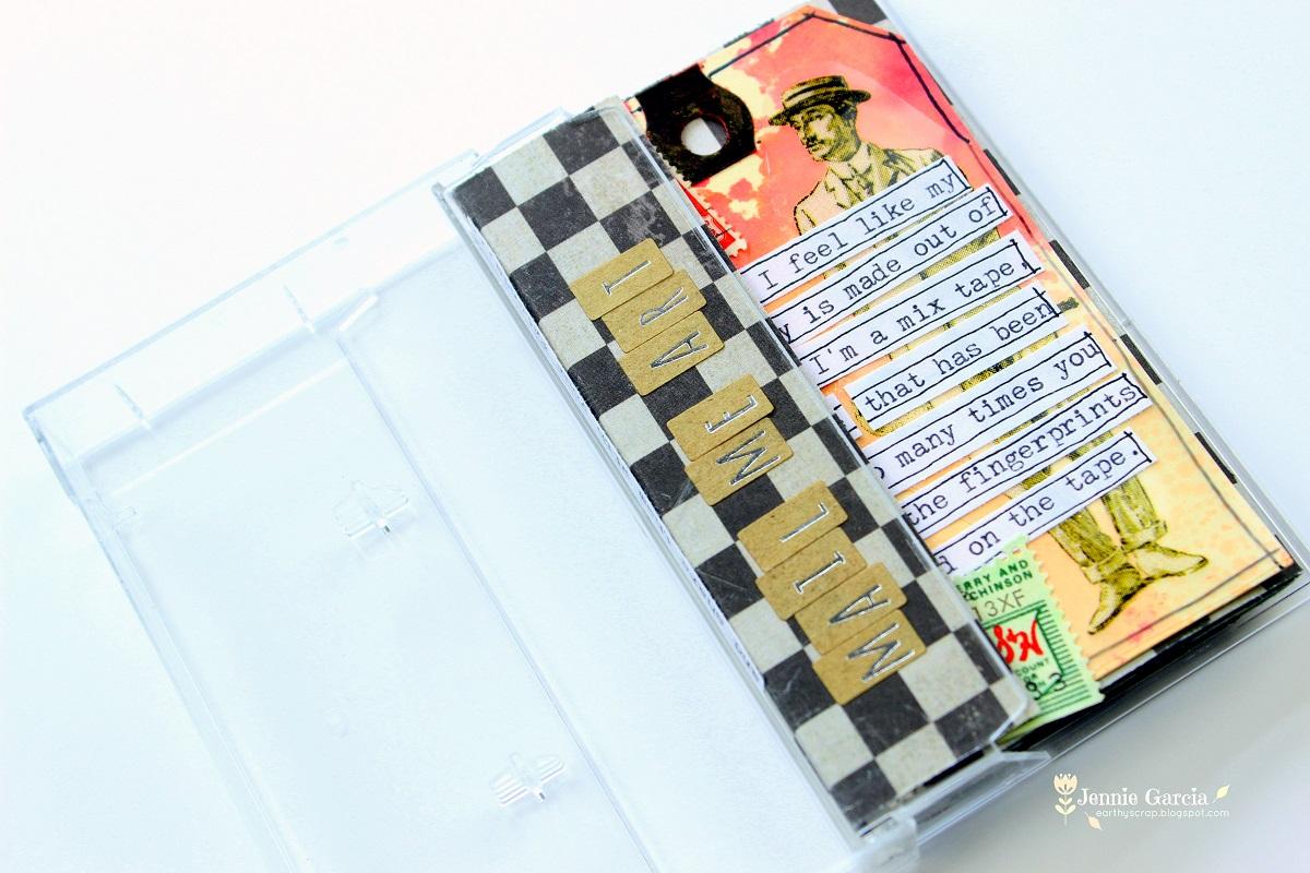 Cassette Mail Art-005