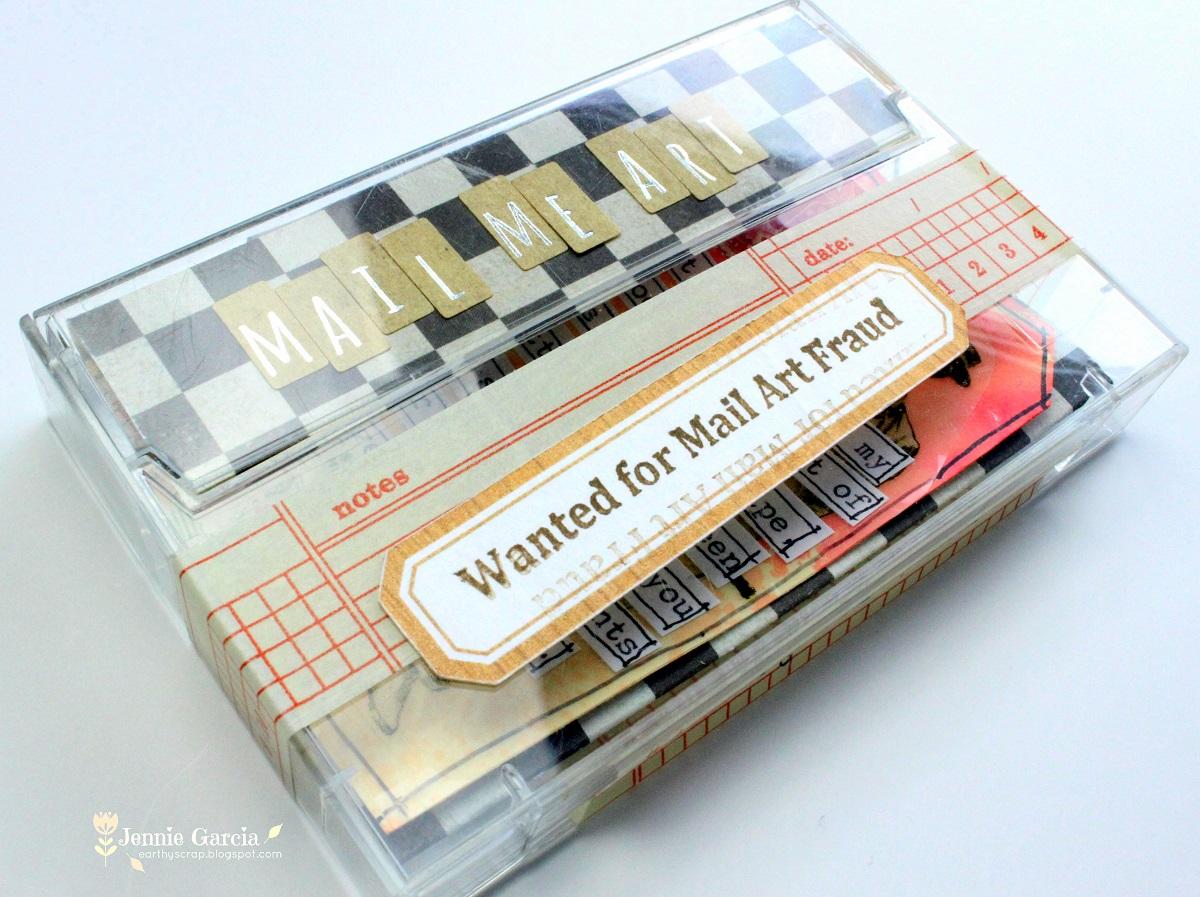 Cassette Mail Art-007