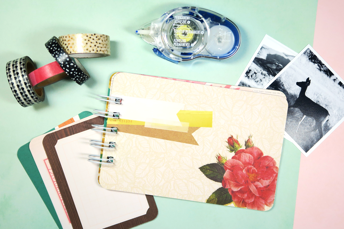 Quick and easy mini album with journal cards tombow usa blog all the layers solutioingenieria Gallery