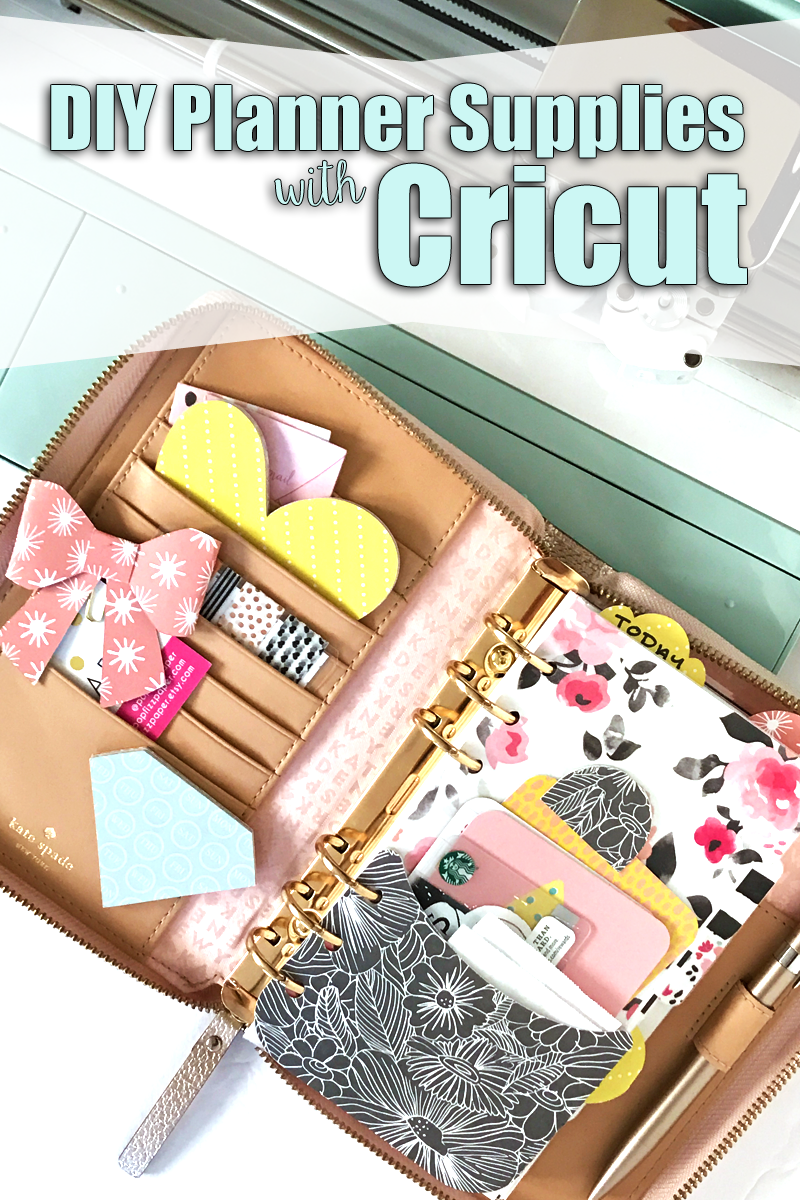 image relating to Planner Supplies referred to as Do it yourself Planner Elements 5 Strategies with Cricut Discover Air 2