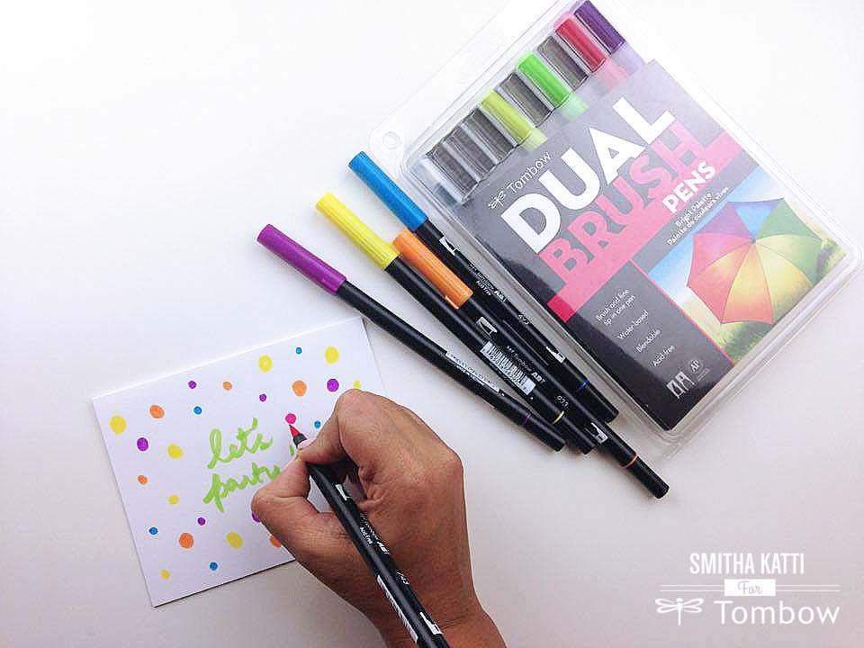 DIY Party Invitations - Tombow USA Blog