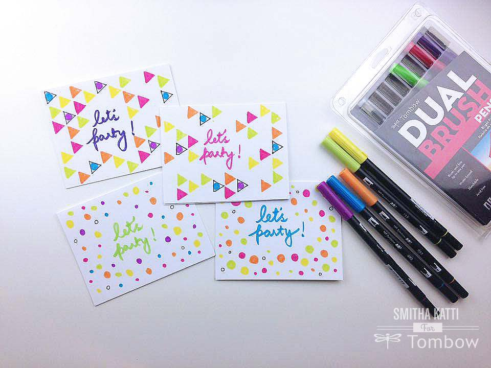 Diy Party Invitations Tombow Usa Blog