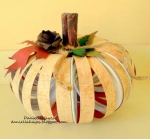 Daniella Hayes Canning Jar Lid Pumpkin 6