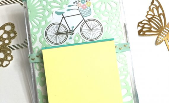 Post It Note Holder Tutorial