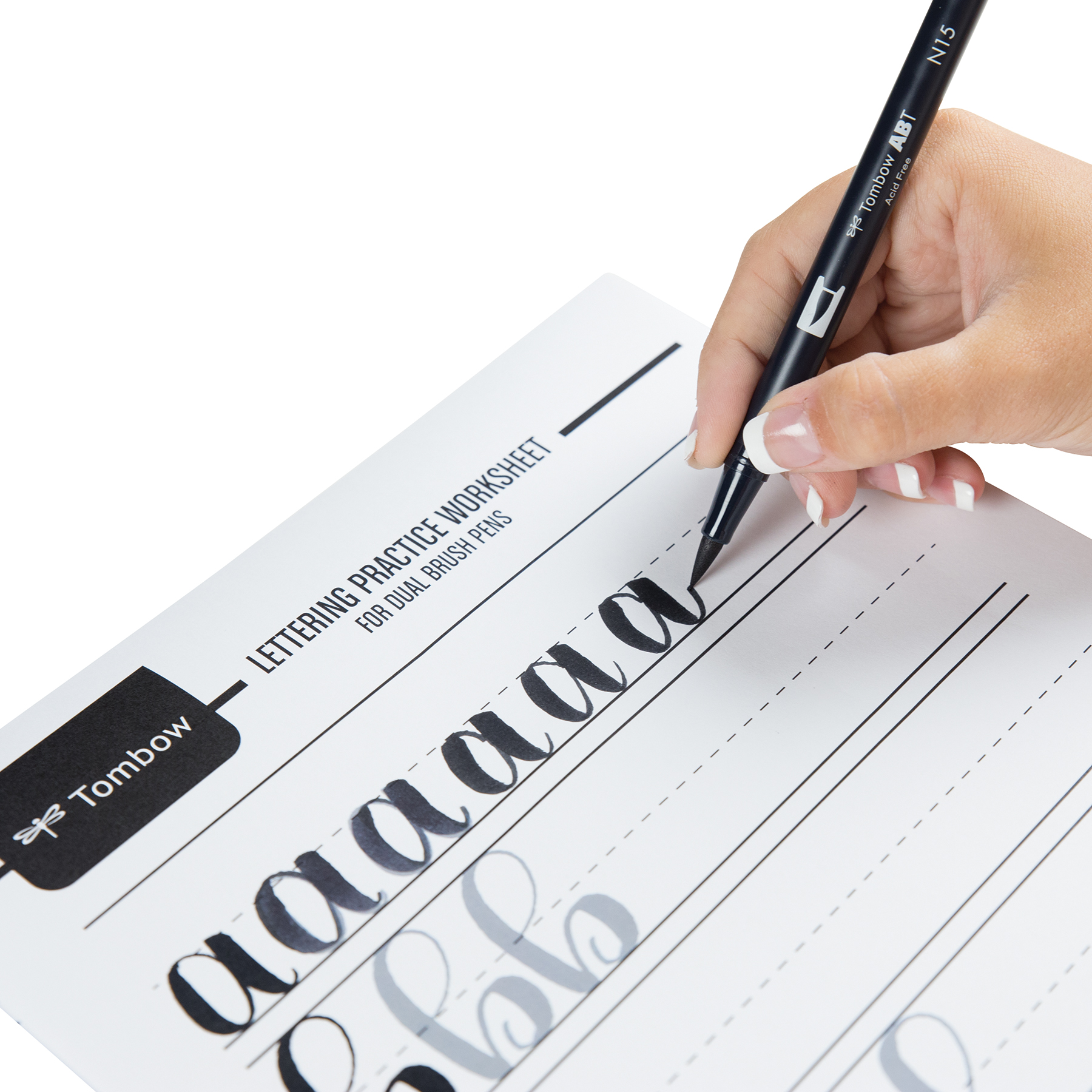 6 Resources For Free Lettering Worksheets Tombow Usa Blog