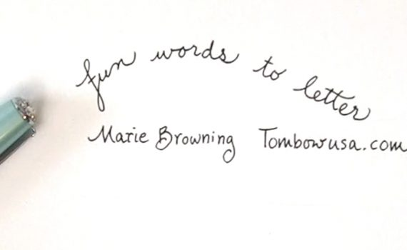 Fun Words to Letter by Marie Browning