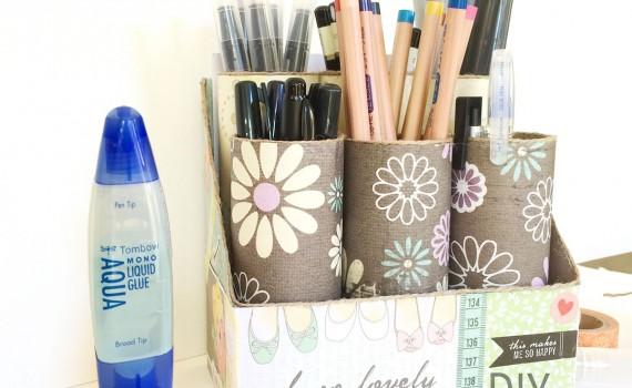 Get organized art caddy