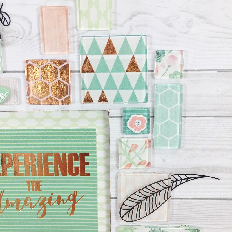 How To Create Home Decor With Scrapbook Supplies Beth Watson