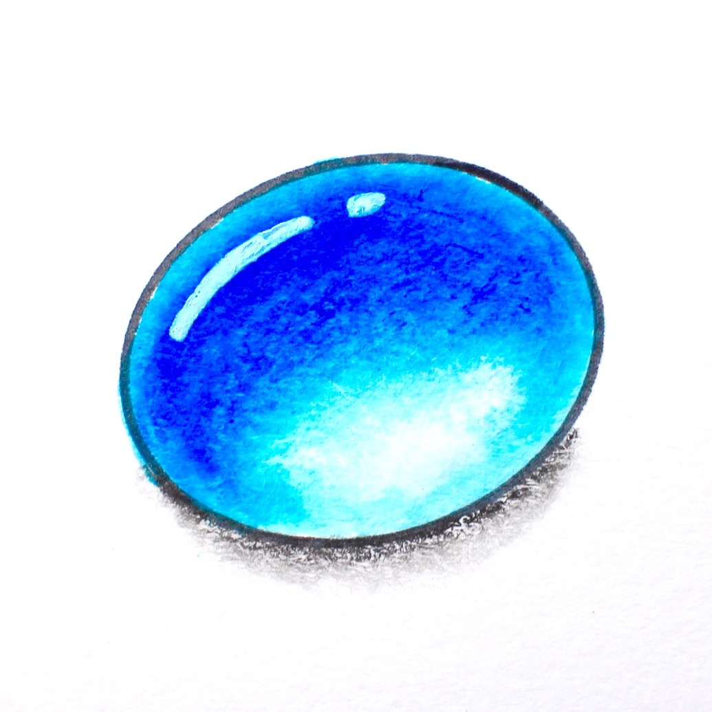 how to draw gems with markers and colored pencils tombow
