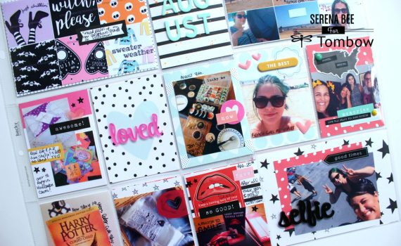 August Pages ft. Felicity Jane By Serena Bee