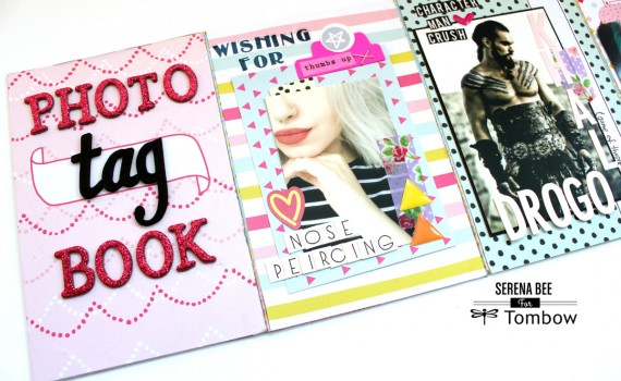 Photo Tag Book By Serena Bee