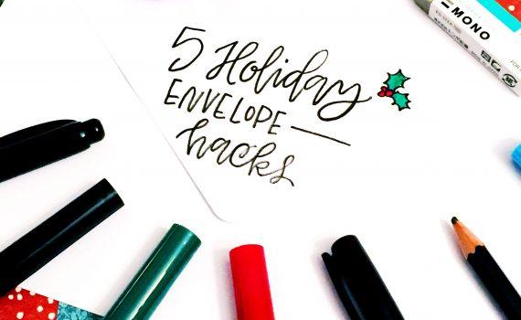 holiday envelope hacks
