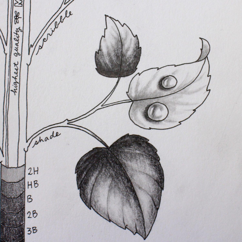 MONO J Pencil Techniques @mariebrowning