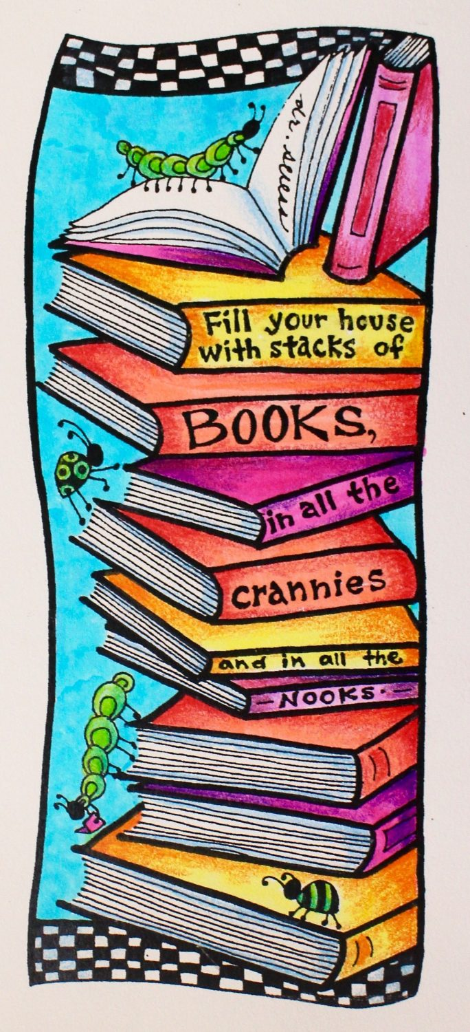 photograph about Read Across America Printable called Absolutely free Dr. Seuss Encouraged Coloring Bookmarks for Countrywide Browse