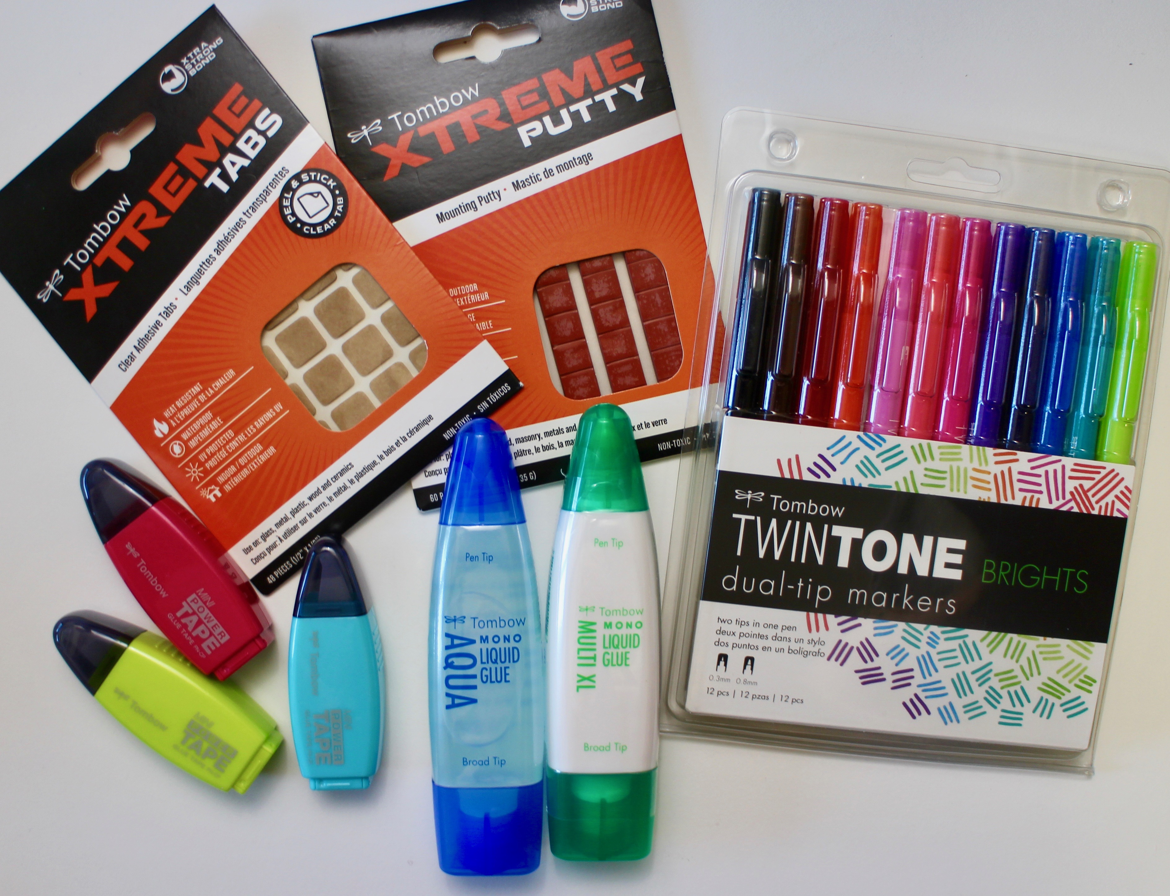 Tombow products for teachers