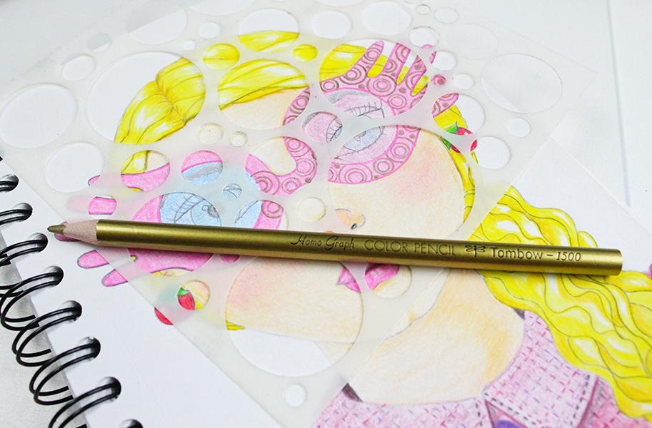 Luna Lovegood Fan Art Using Tombow 1500 Series Colored Pencils Tombow Usa Blog