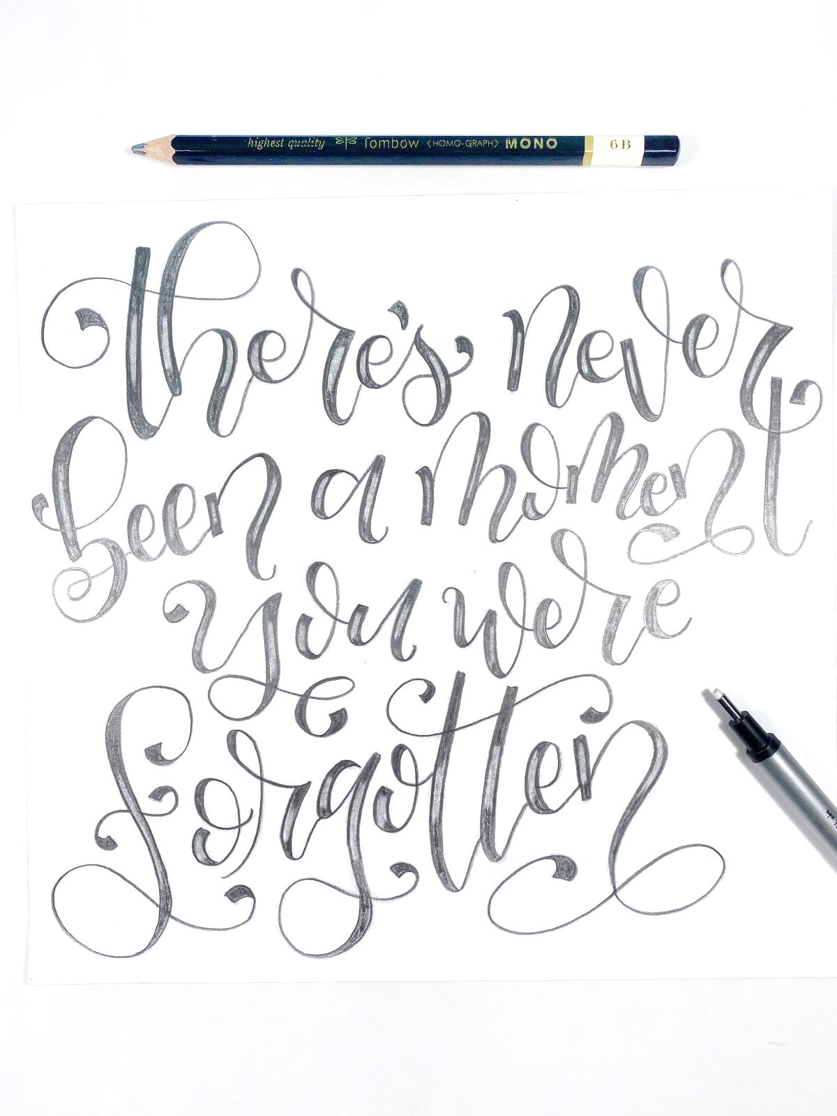 Tombow's Top 5 Tools For Lettering! #tombow #lettering