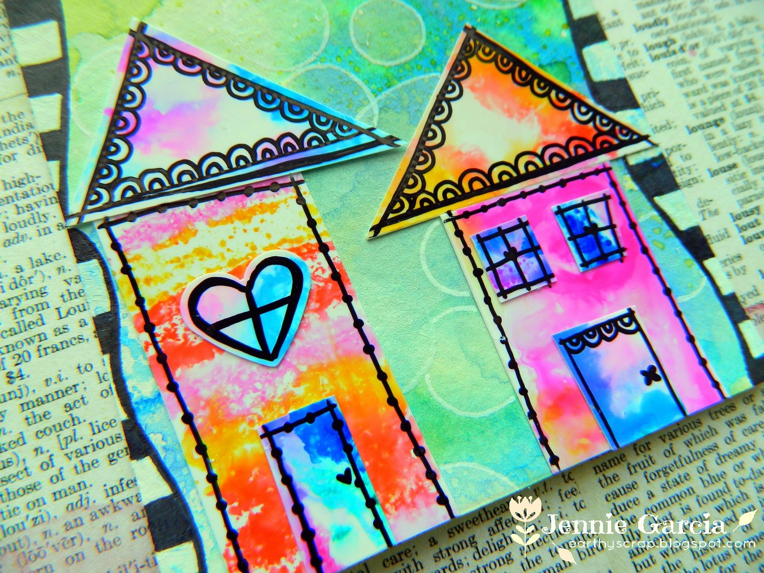 Mixed Media Houses4