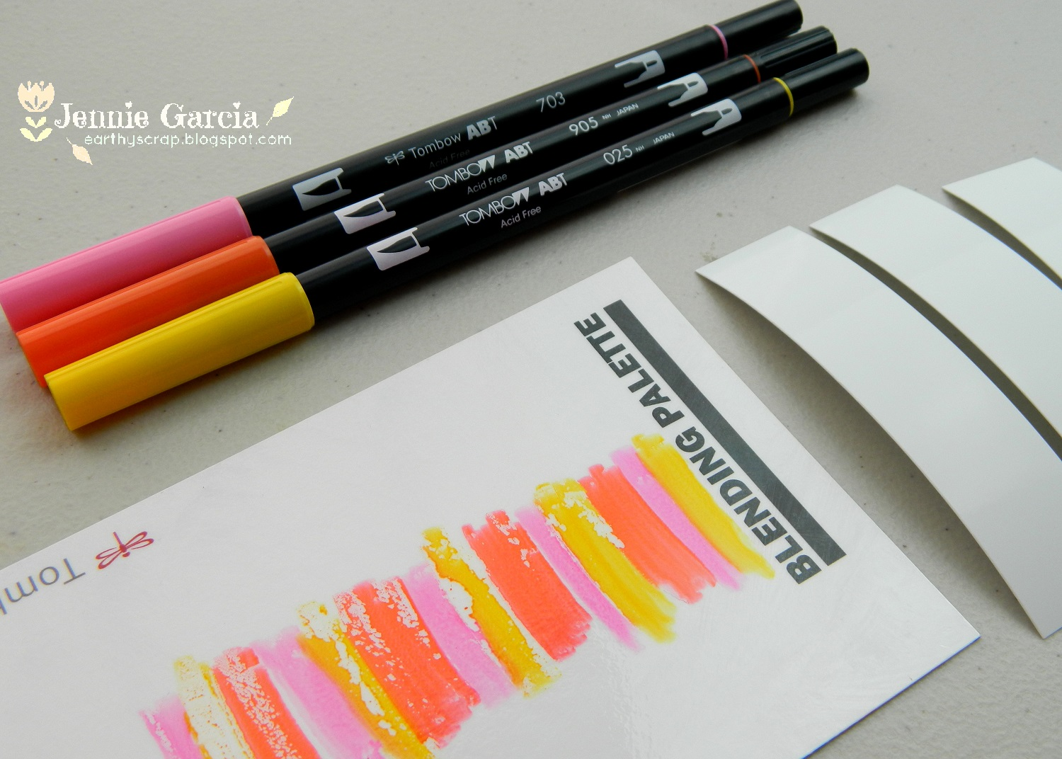 Blending technique with Tombow markers Archives - Tombow ...