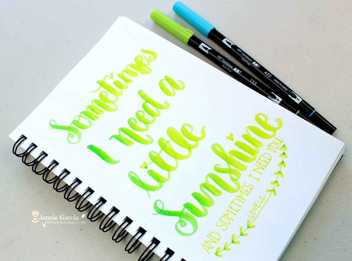 Lettering Lyrics! By Jennie Garcia  Lettering Lyric...