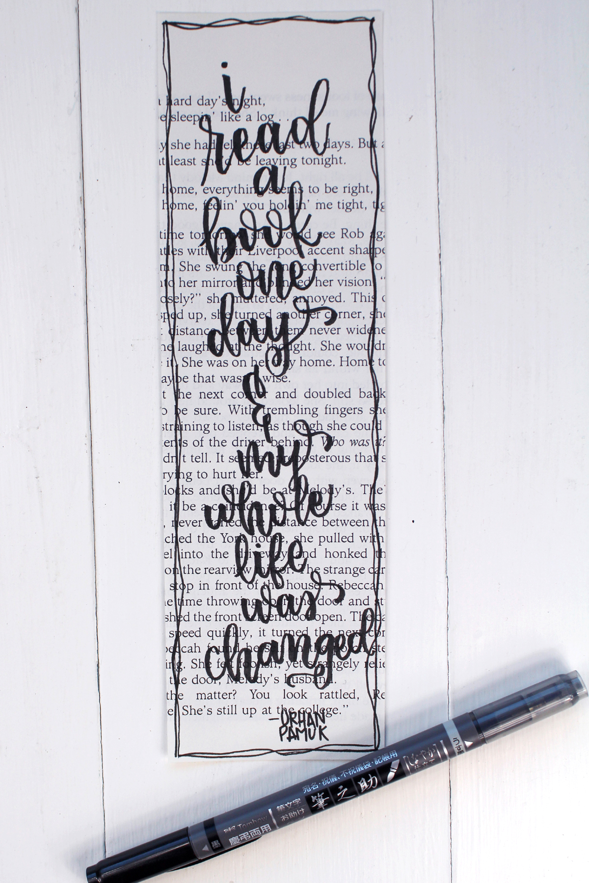 If you are new to hand lettering, check out this post on Faux Calligraphy for a great way to get started.