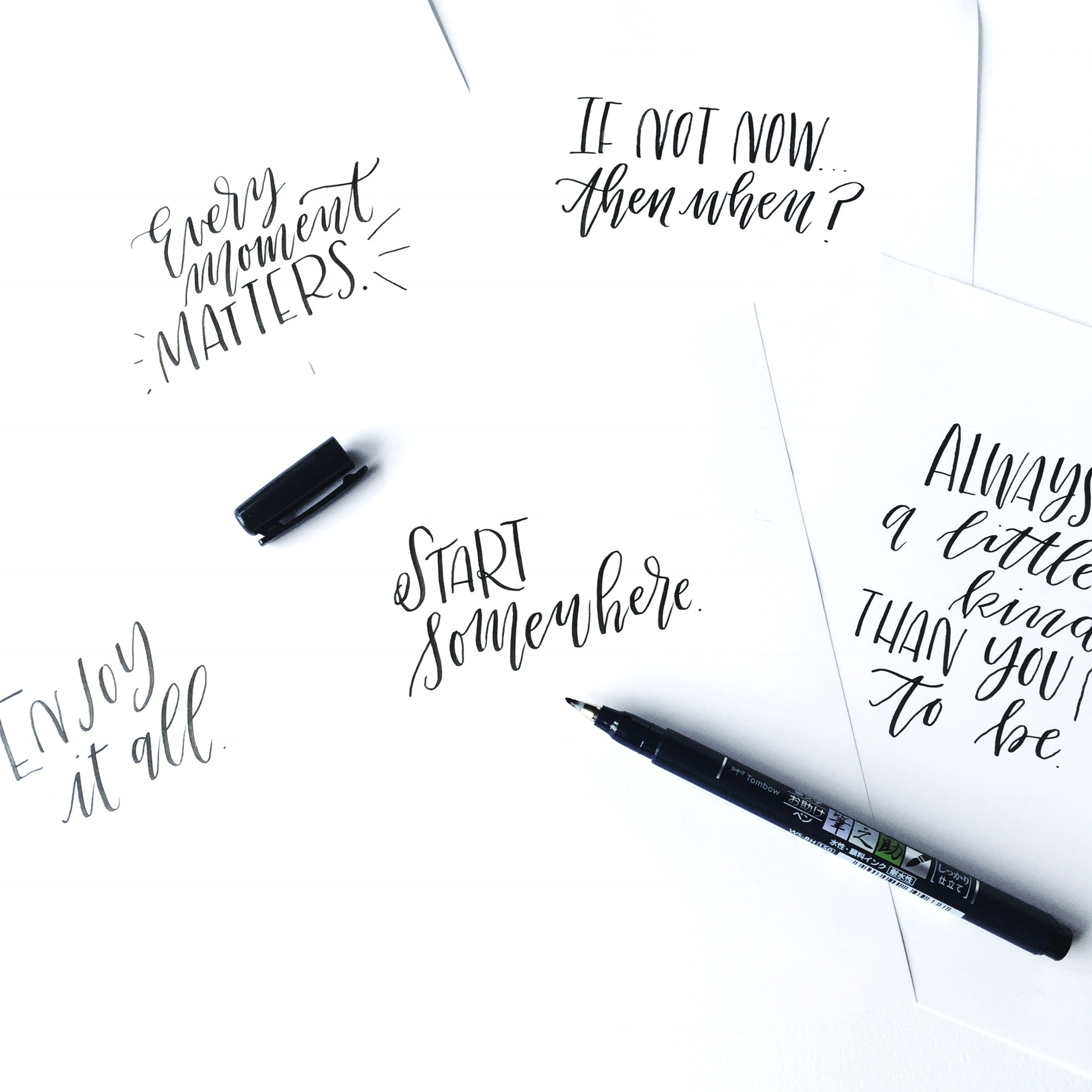 Lauren Fitzmaurice Of Renmadecalligraphy On Instagram And Shows You 3 Creative Ways