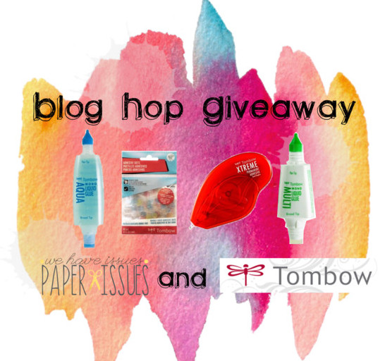 Paper Issues Blog Hop Prize