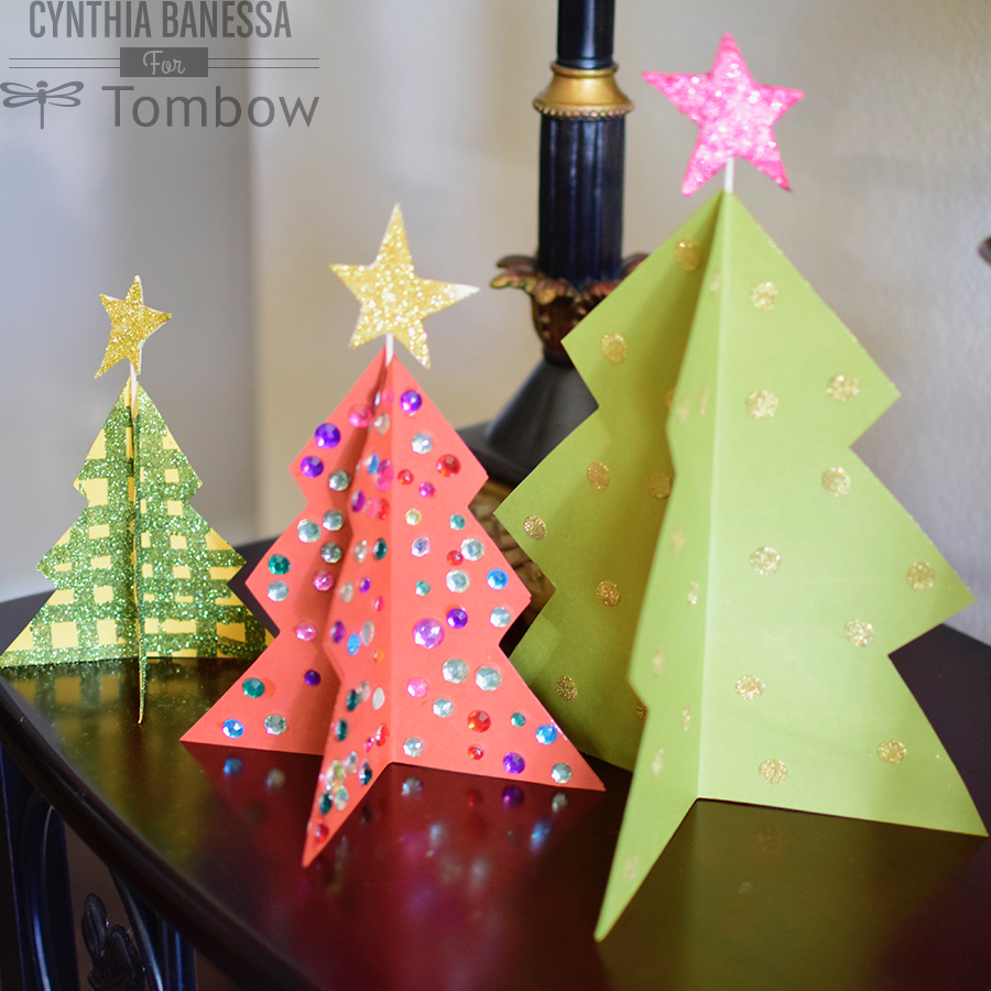 Paper Craft Christmas Tree