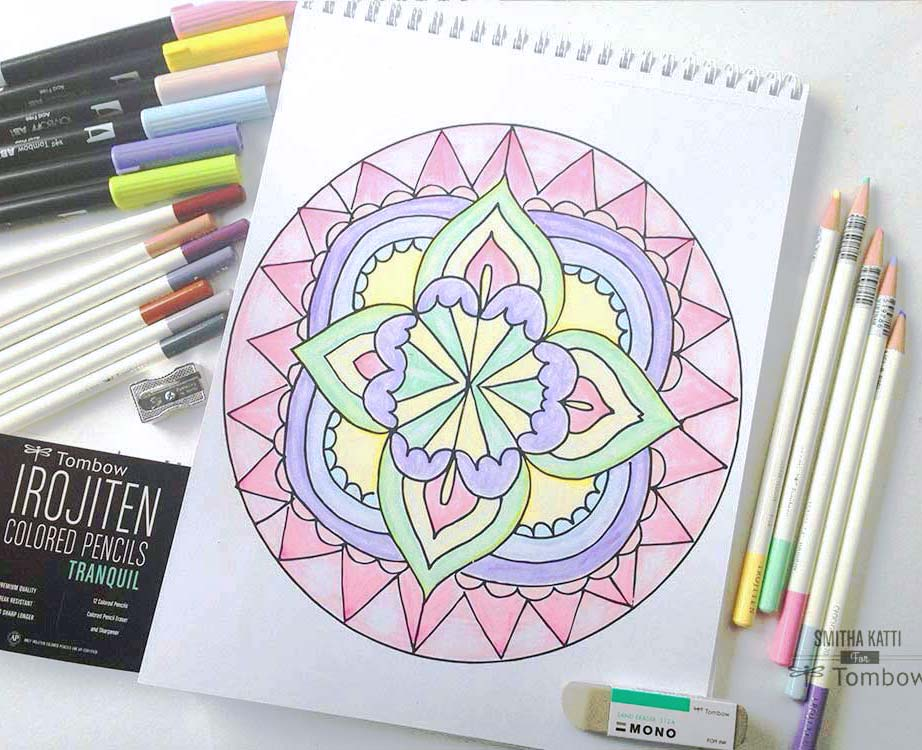 Adult Coloring with Irojiten Colored Pencil Sets - Tombow ...