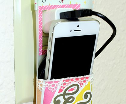 Recycled Phone Charging Station Pinterest
