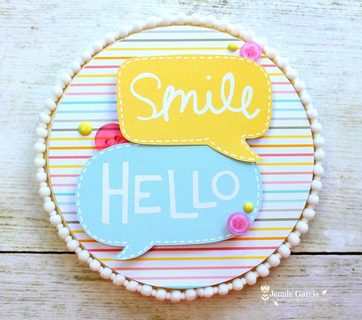 Smile Girly Frame