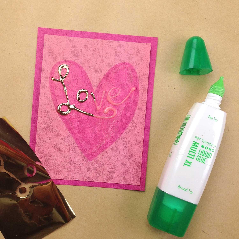 Smitha Katti Valentines foiling