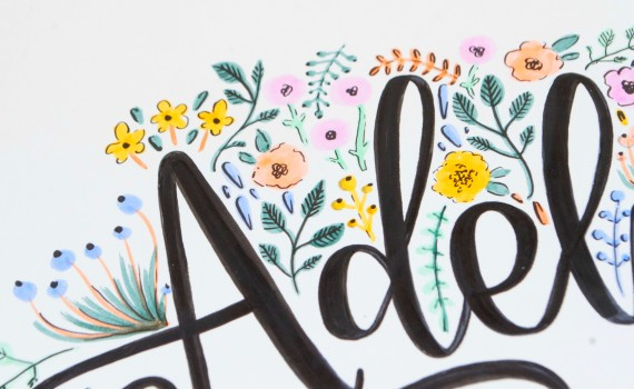 Tombow Brand Ambassador Spotlight: Kiley Shuffett | Q&A with Kiley on her lettering style and approach