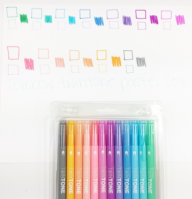 How To Create Patterns With New Twintones Markers Tombow Usa Blog