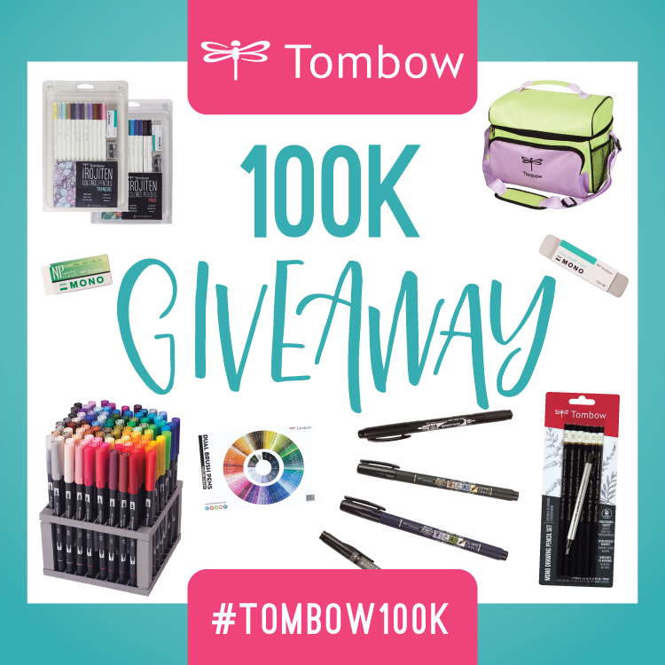 Tombow 100K Instagram Giveaway! - Tombow USA Blog