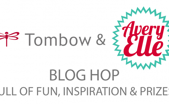 Tombow and Avery Elle Blog Hop Badge