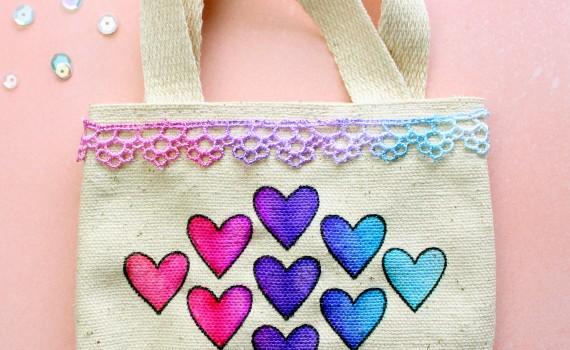 Valentine's Canvas Bag