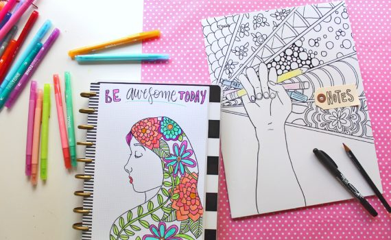 adult coloring Archives - Tombow USA Blog