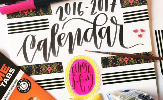 Creative Calendar Cover