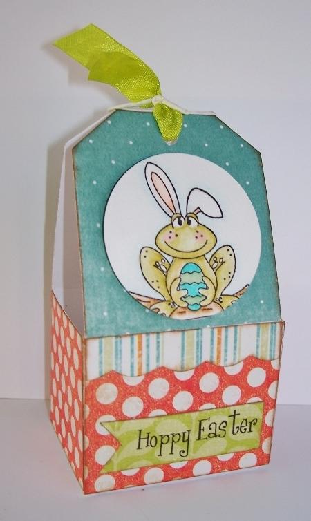 frog tag box