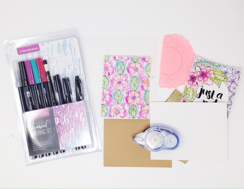 Embellished happy mail envelopes - Tombow USA Blog